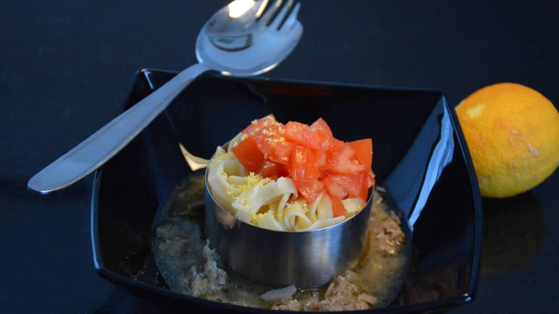 Zitronennudeln – klassisch mit Tunfisch