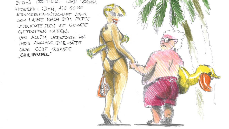 Urlaubsgrüße von Roger Federkill